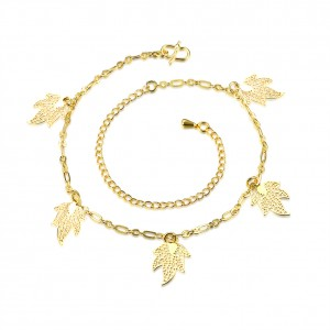 Noreen 18k Gold Plated Anklet