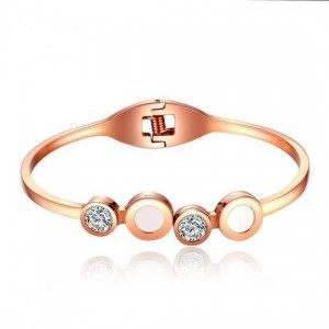 Olympus 316L Stainless Steel Rosegold Bracelet