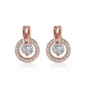 Peggy Rose Gold Plated Earrings