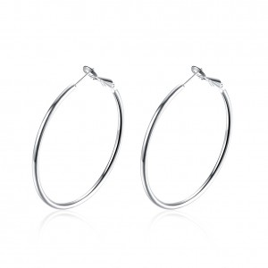 Penelope 18K White Gold Earrings