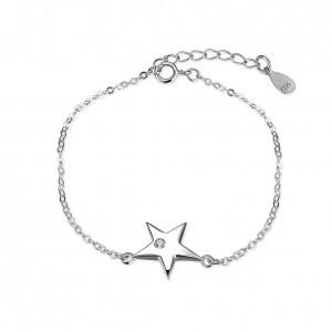 Pilar Star 925 Sterling Silver  Bracelet