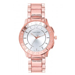 Prudence Rose Gold Plated Watch by Carpe Diem