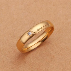 Pure Love 18k Gold Plated