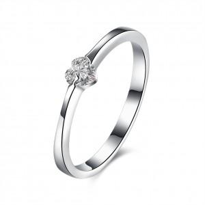 Rita Heart 925 Argento Silver Ring