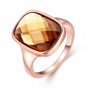 Rochelle Rose Gold Plated Ring