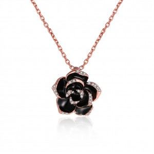 Rosanna 18k Rose Gold Plated Necklace