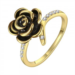 Rosanna Thin 18K Gold Plated Ring