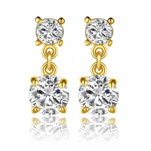 Roxy 18K Gold Plated Earrings by Elite