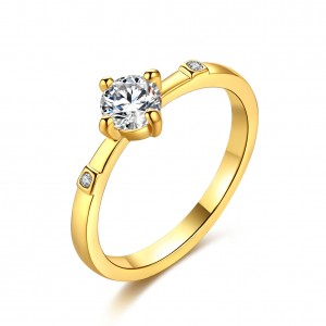 Roxy 18k Gold Plated Ring