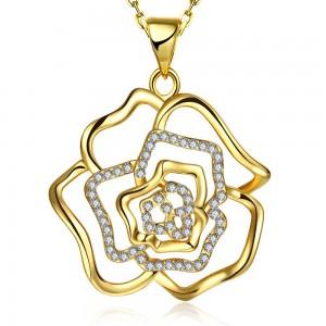 Rozamond 18K Gold Plated Necklace