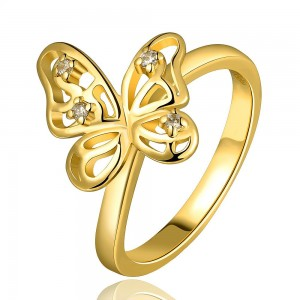 Savannah Butterfly Ring 18K Gold Plated