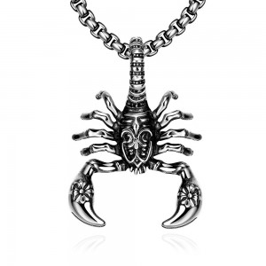 Scorpio 316L Stainless Steel Men's Necklace by Dothrak