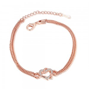 Shaina Rose Gold Plated Bracelet