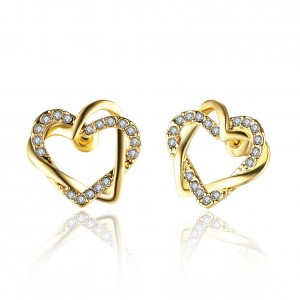 Shaina 18K Gold Plated Earrings