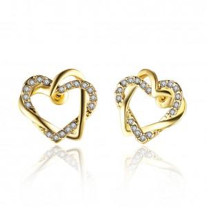 Shaina 18K Gold Plated Earrings