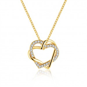Shaina 18K Gold Plated Necklace