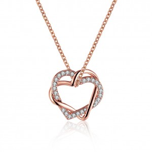Shaina Rose Gold Plated Necklace