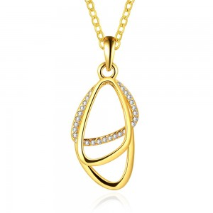Sharon 18K Gold Plated Necklace