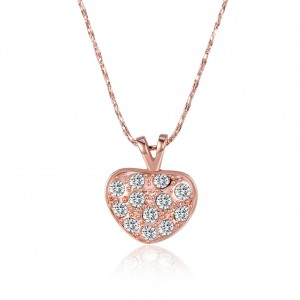 Sherie 18K Rose Gold Necklace