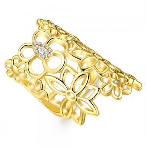 Socorro 18K Gold Plated Ring
