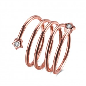 Spira 18k Rose Gold Plated Ring