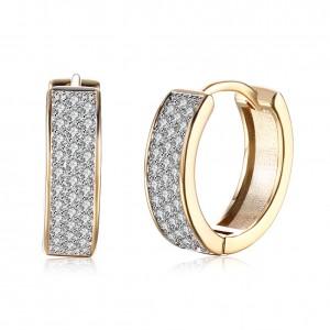 Tanya 18K Gold Plated Earrings