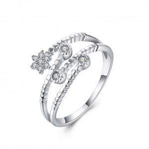 Teresse 925 Argento Silver Adjustable Ring