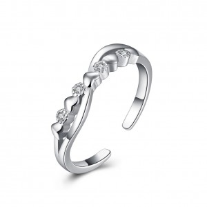 Thalia 925 Argento Silver Adjustable Ring