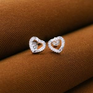 Brenda Heart Earrings