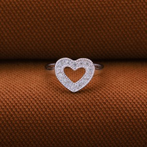 Scarlet Heart 925 Silver Ring