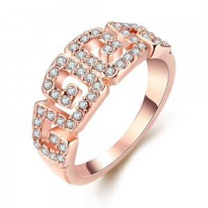 Valery Rose Gold Plated Rings