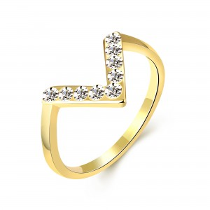 Verona 18K Gold Plated Ring