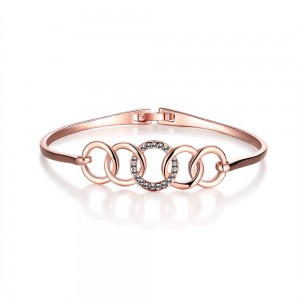 Vicky Rose Gold Plated Bangle