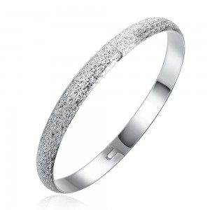 Adalia Silver Plated Bangle