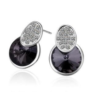 Alberta Platinum Plated Earrings