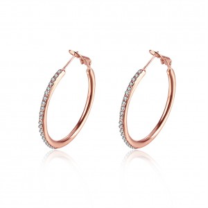 Angelina 18K Rose Gold Plated Earrings