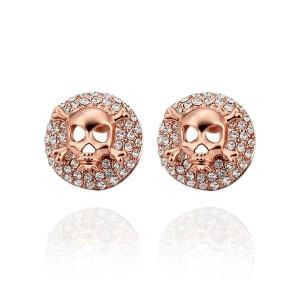 Avril Rose Gold Plated Earrings