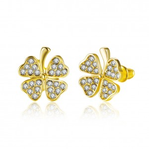 Charmaine Gold Plated Earrings