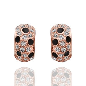 Juliana 18K Rose Gold Plated Earrings