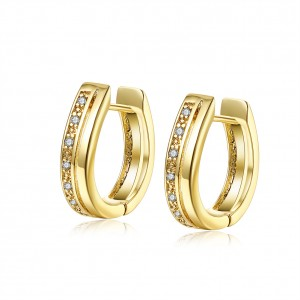 Laira 18k Gold Plated Earings