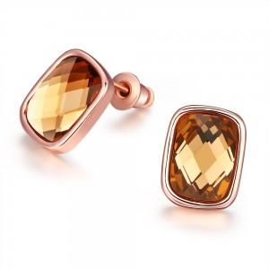 Rochelle Rose Gold Plated Earrings