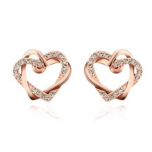 Shaina Heart Earrings