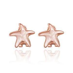 Starfish Clip Earrings
