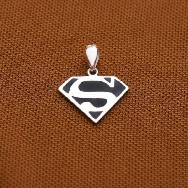 Technowise360 Superman 925 Silver Pendant