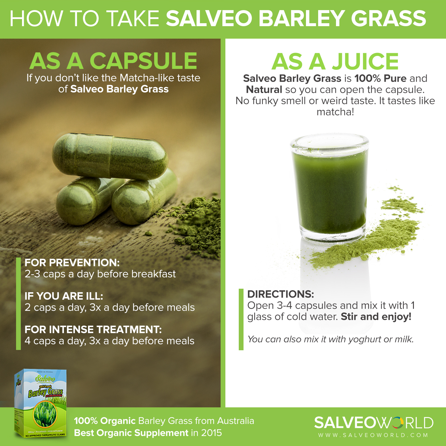 technowise360 - salveo barley grass